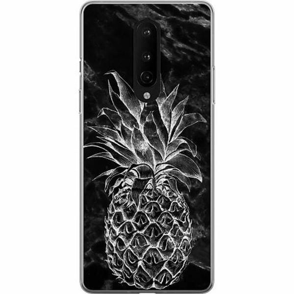 OnePlus 8 Mjukt skal - Marmor Ananas