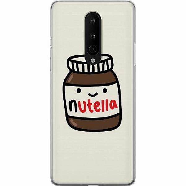 OnePlus 8 Mjukt skal - Nutella