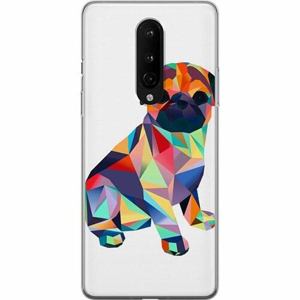 OnePlus 8 Mjukt skal - Pug
