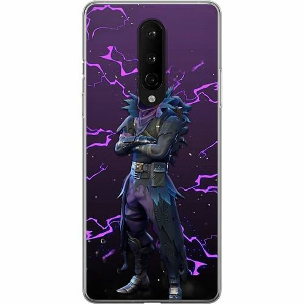 OnePlus 8 Mjukt skal - Raven Fortnite Thunder