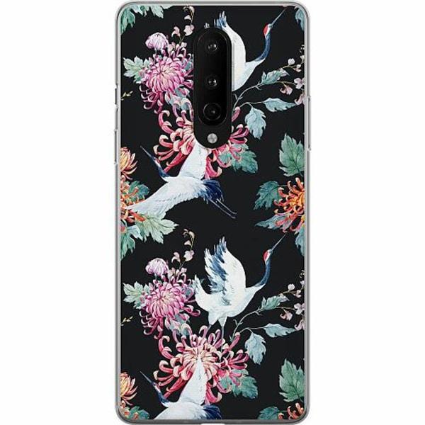 OnePlus 8 Mjukt skal - Botanical Birds