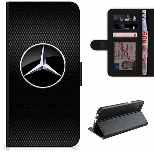 Huawei P40 Lite Lyxigt Fodral Mercedes