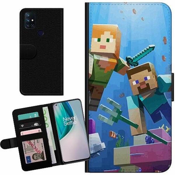 OnePlus Nord N10 Billigt Fodral MineCraft