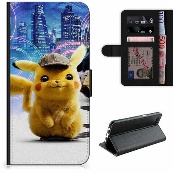 Samsung Galaxy A11 Lyxigt Fodral Detective Pikachu - Pikachu