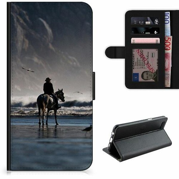 Samsung Galaxy A11 Lyxigt Fodral Häst / Horse