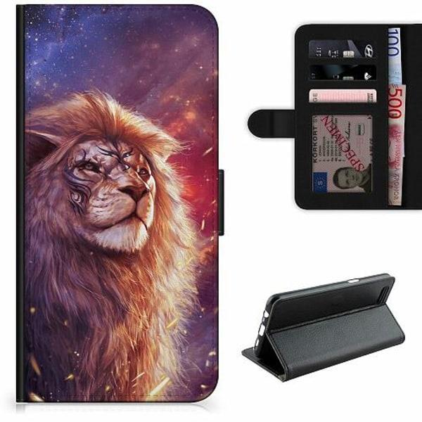 Samsung Galaxy XCover 4 Lyxigt Fodral Lion