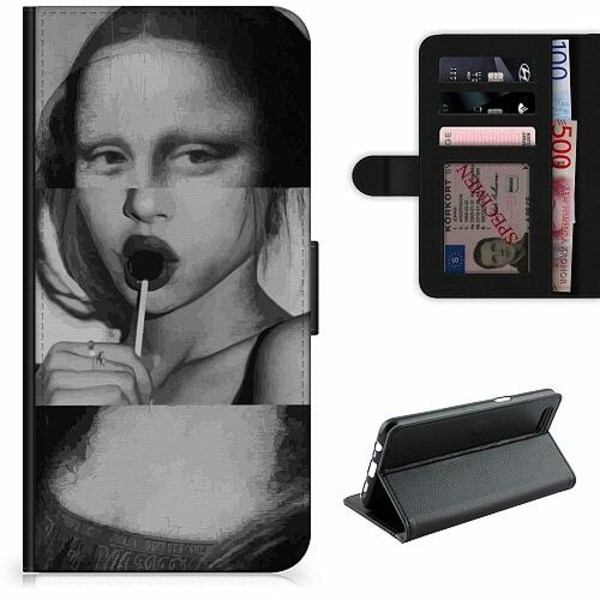 OnePlus 8 Pro Lyxigt Fodral Mona Lisa
