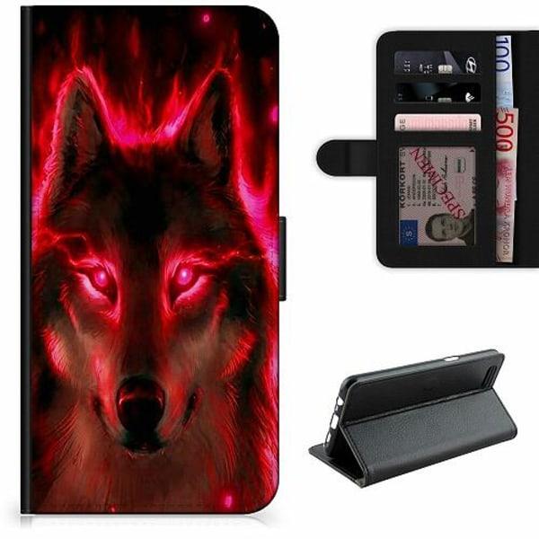 Samsung Galaxy A11 Lyxigt Fodral Statement Wolf 1055