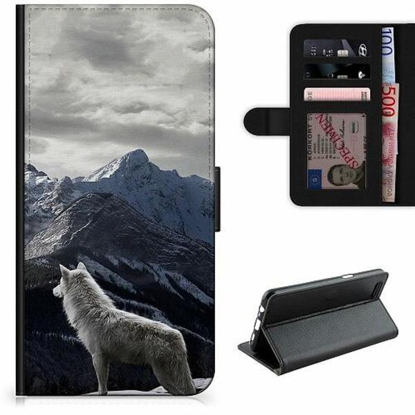 Samsung Galaxy A11 Lyxigt Fodral Wolf / Varg