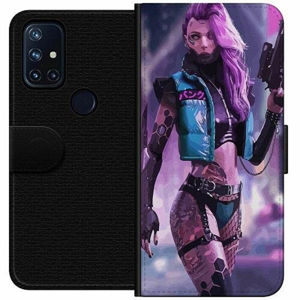 OnePlus Nord N10 Wallet Case Cyberpunk 2077