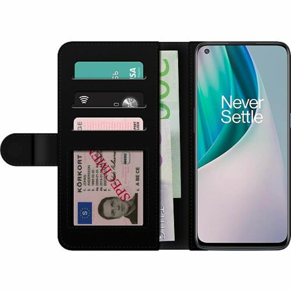 OnePlus Nord N10 Billigt Fodral Bokstäver