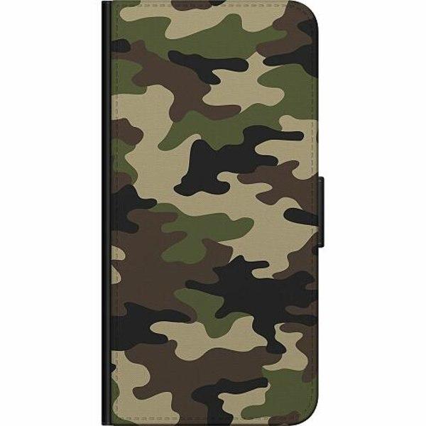 Apple iPhone XS Max Billigt Fodral Woodland Camo