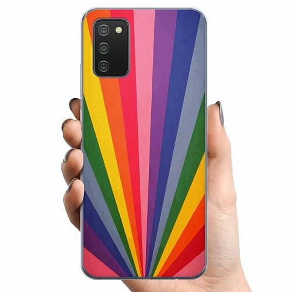 Samsung Galaxy A02s TPU Mobilskal Color