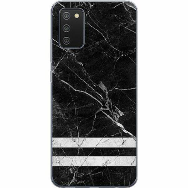 Samsung Galaxy A02s TPU Mobilskal Marmor