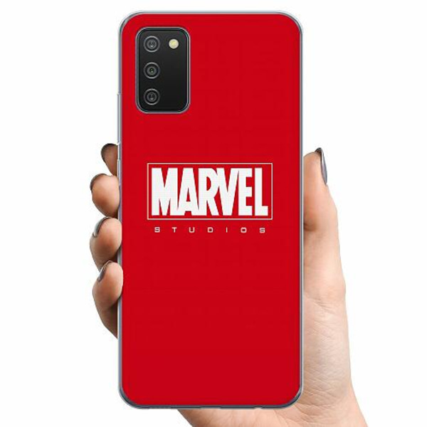 Samsung Galaxy A02s TPU Mobilskal Marvel