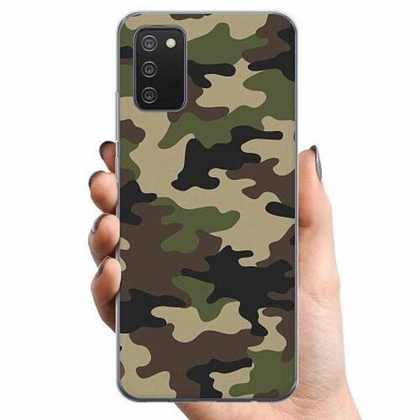 Samsung Galaxy A02s TPU Mobilskal Militär