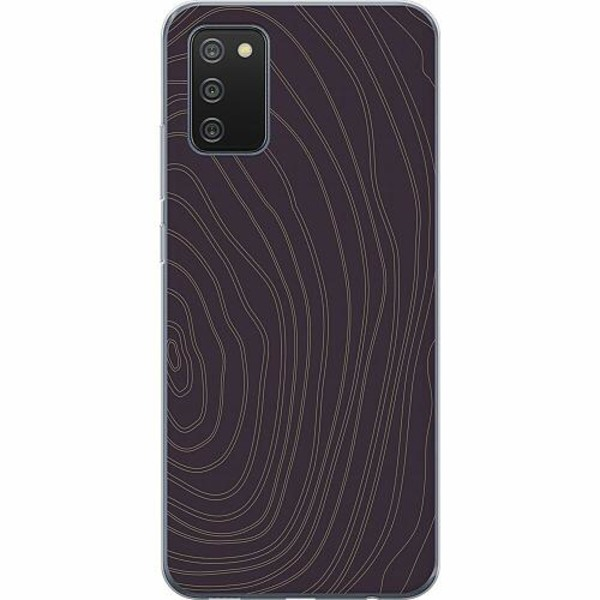 Samsung Galaxy A02s TPU Mobilskal Mönster