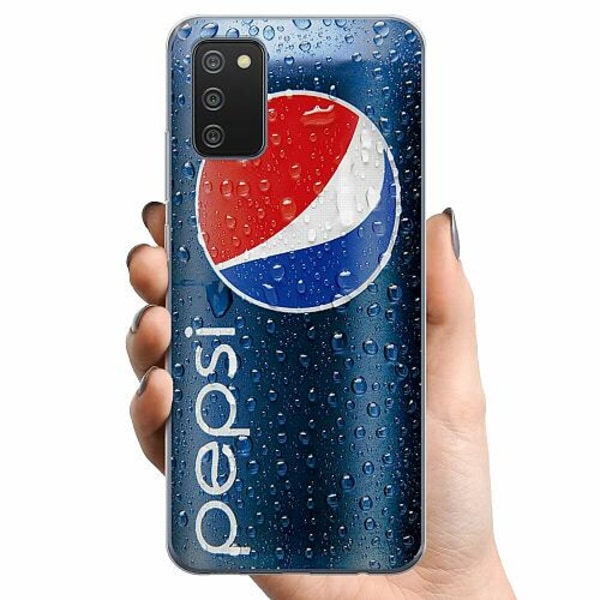 Samsung Galaxy A02s TPU Mobilskal Pepsi Can