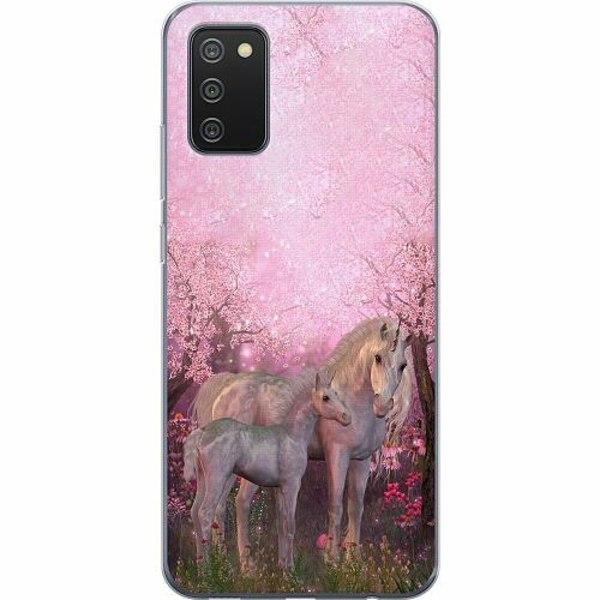 Samsung Galaxy A02s TPU Mobilskal Unicorn