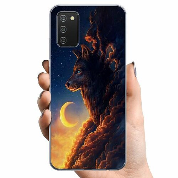 Samsung Galaxy A02s TPU Mobilskal Varg
