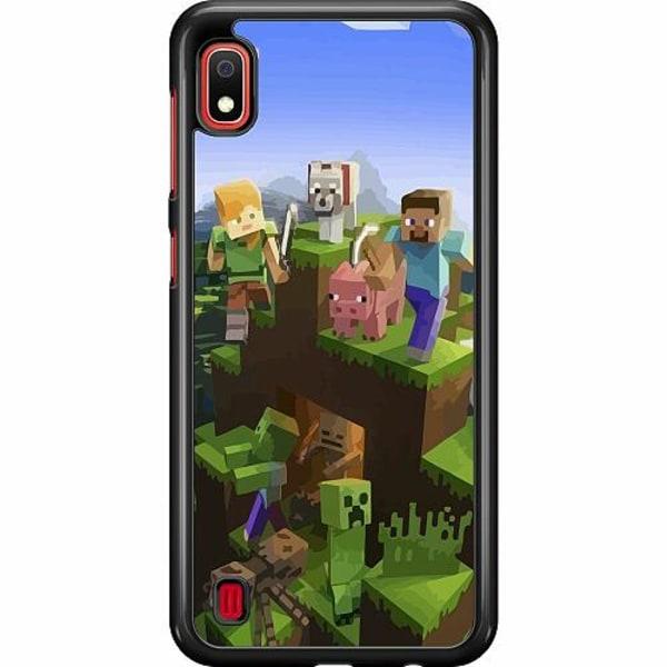 Samsung Galaxy A10 Hard Case (Svart) MineCraft
