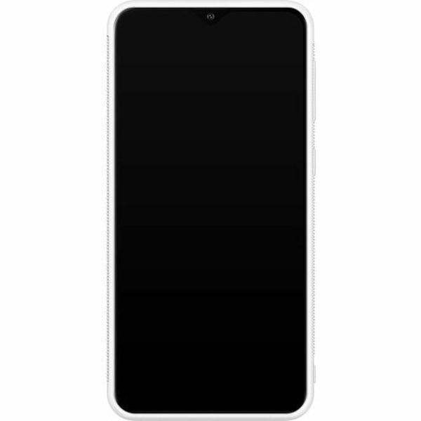 Samsung Galaxy A10 Soft Case (Vit) Among Us