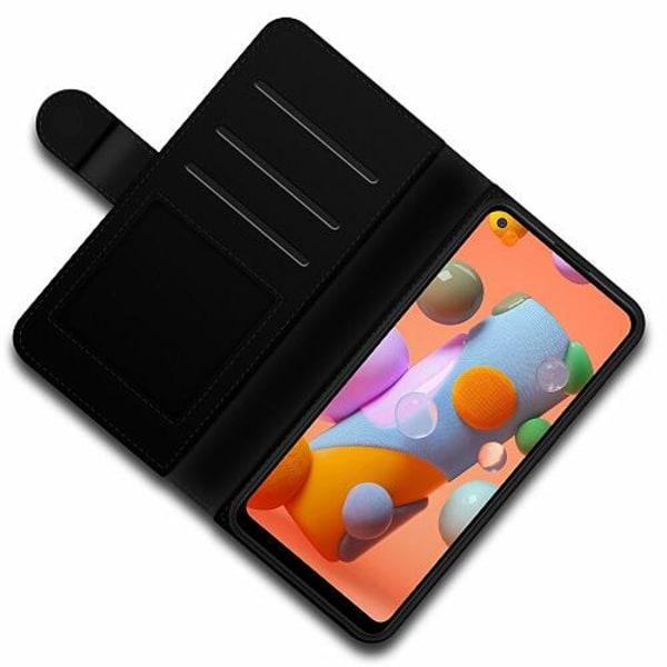 Samsung Galaxy A11 Lyxigt Fodral Liquid Smoke