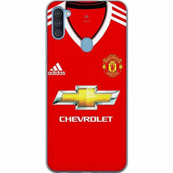 Samsung Galaxy A11 Mjukt skal - Manchester United FC