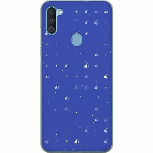 Samsung Galaxy A11 Thin Case Bubbles Invaders