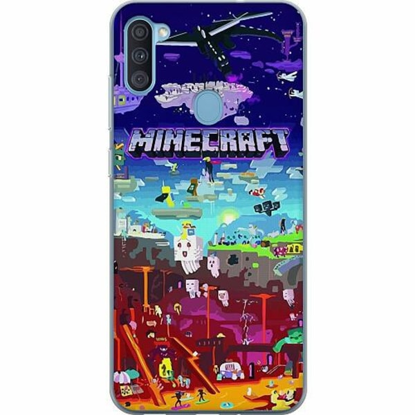 Samsung Galaxy A11 Thin Case MineCraft