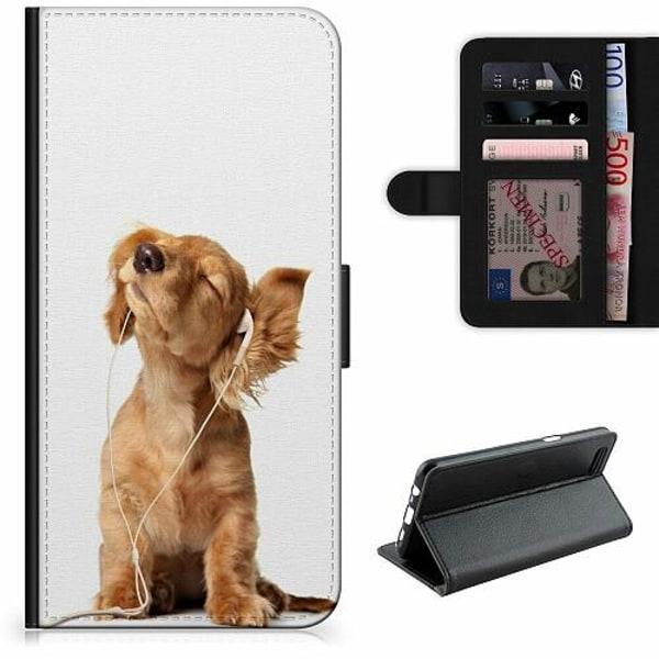 Samsung Galaxy A12 Lyxigt Fodral Hund