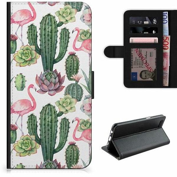 Samsung Galaxy A12 Lyxigt Fodral Kaktus