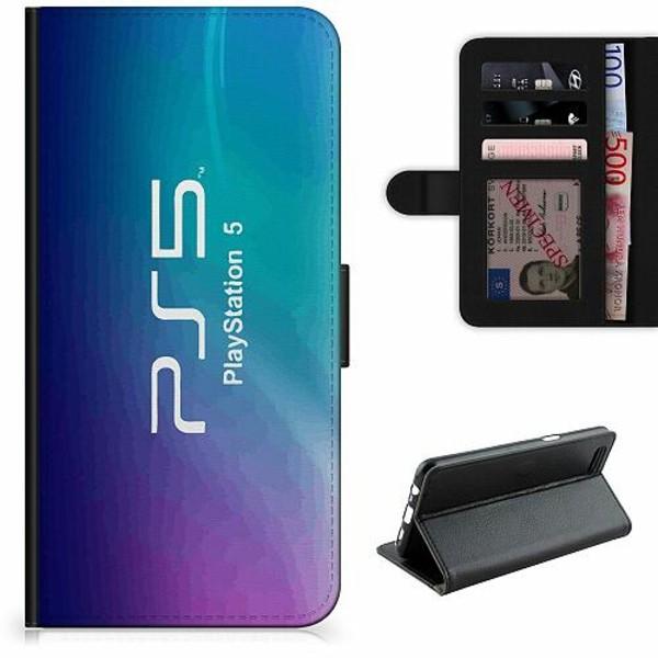 Samsung Galaxy A12 Lyxigt Fodral PS5