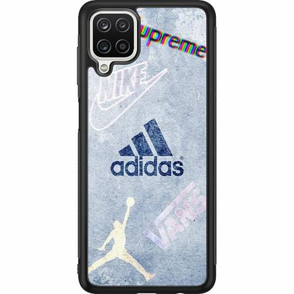 Samsung Galaxy A12 Soft Case (Svart) Ice