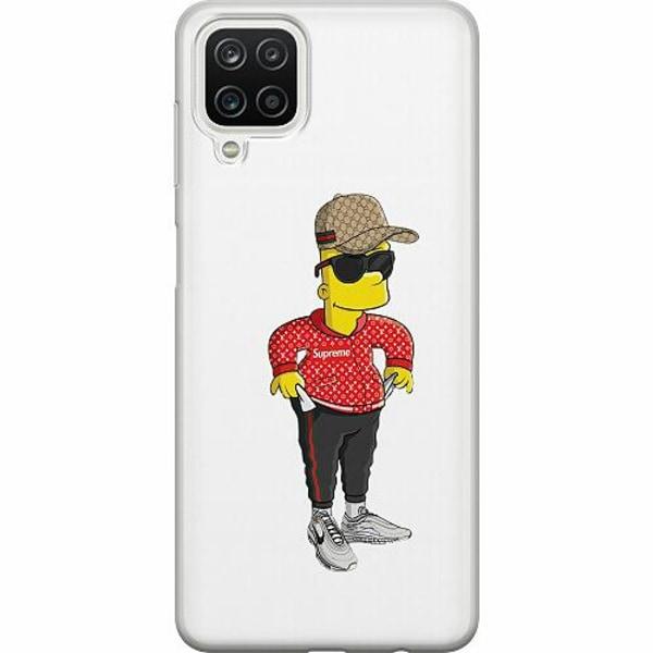 Samsung Galaxy A12 TPU Mobilskal Bart Simpsons SUP