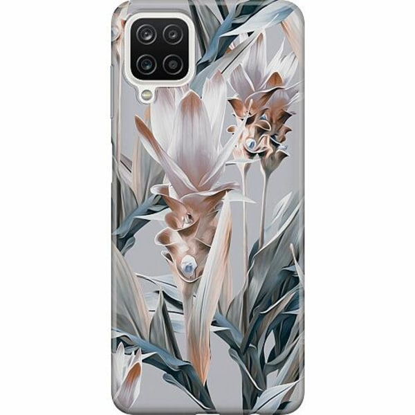 Samsung Galaxy A12 TPU Mobilskal Bloom