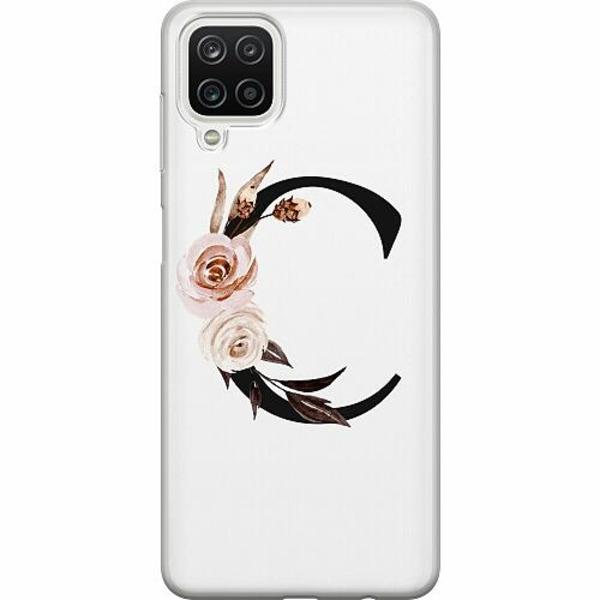 Samsung Galaxy A12 TPU Mobilskal Bokstäver