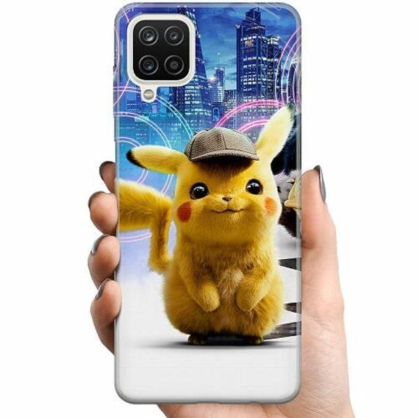 Samsung Galaxy A12 TPU Mobilskal Detective Pikachu - Pikachu