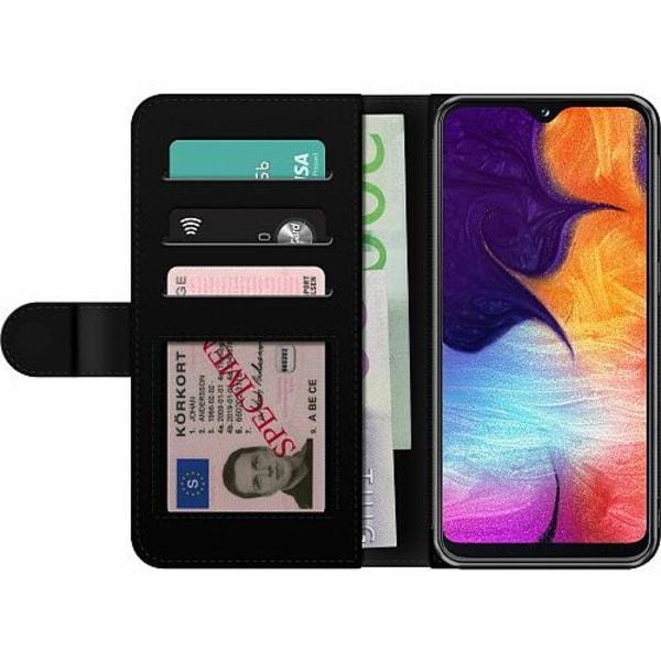 Samsung Galaxy A20e Billigt Fodral Däckmönster
