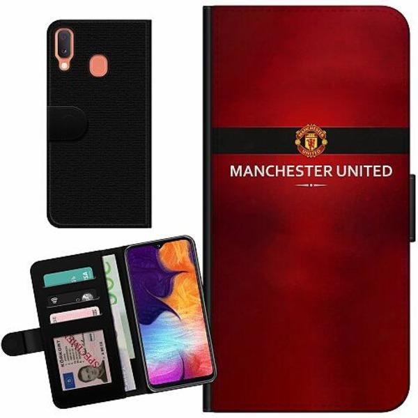 Samsung Galaxy A20e Billigt Fodral Manchester United