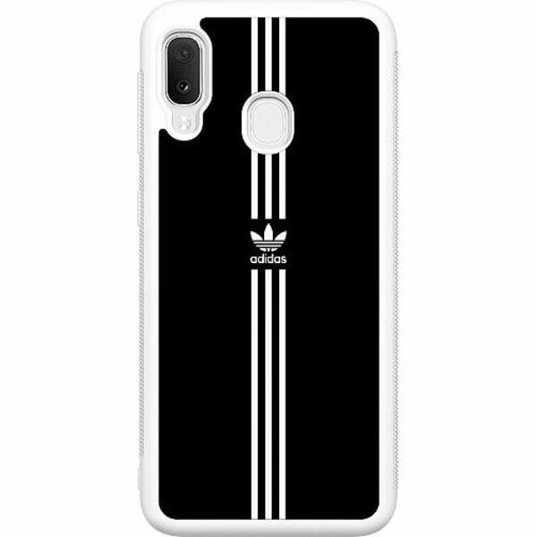Samsung Galaxy A20e Soft Case (Vit) Fashion