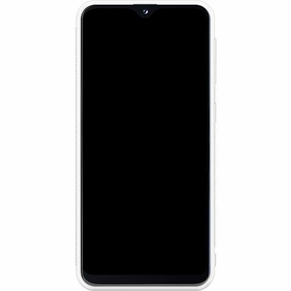 Samsung Galaxy A20e Soft Case (Vit) Apelsin