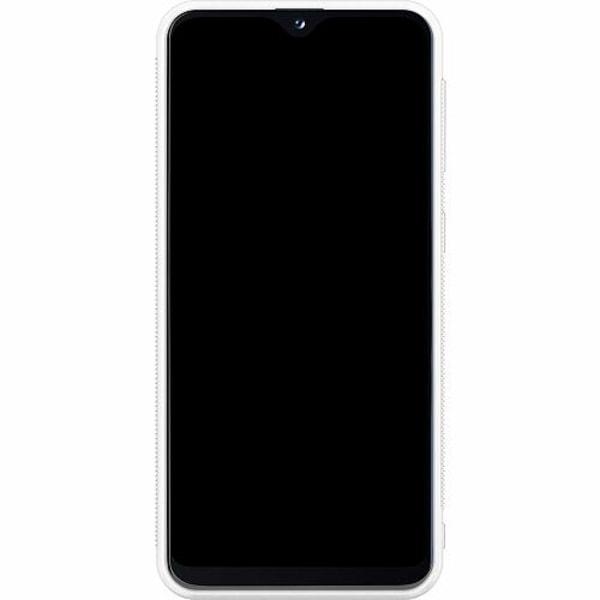 Samsung Galaxy A20e Soft Case (Vit) Blommor