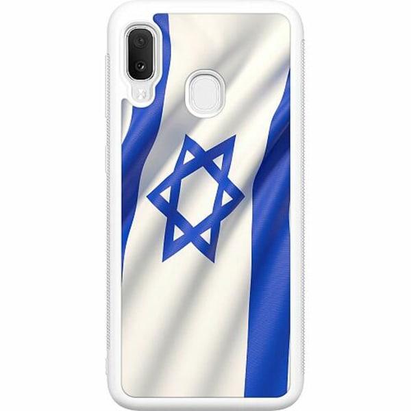 Samsung Galaxy A20e Soft Case (Vit) Israel