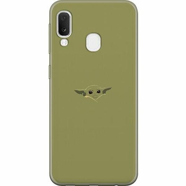Samsung Galaxy A20e Mjukt skal - Baby Yoda