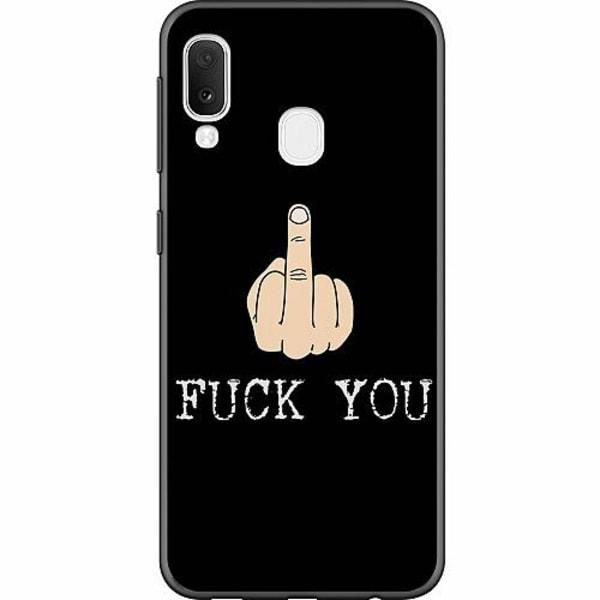 Samsung Galaxy A20e Thin Case Fuck You