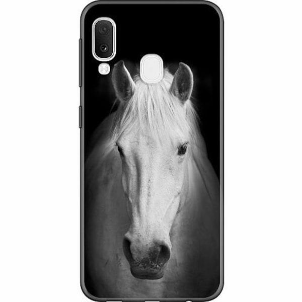 Samsung Galaxy A20e Thin Case Häst
