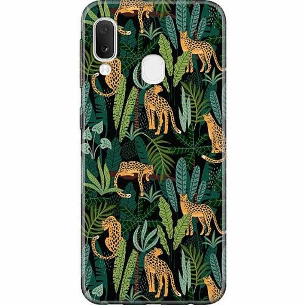 Samsung Galaxy A20e Thin Case Jungle Days