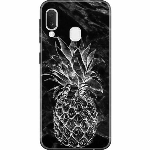 Samsung Galaxy A20e Thin Case Marmor Ananas