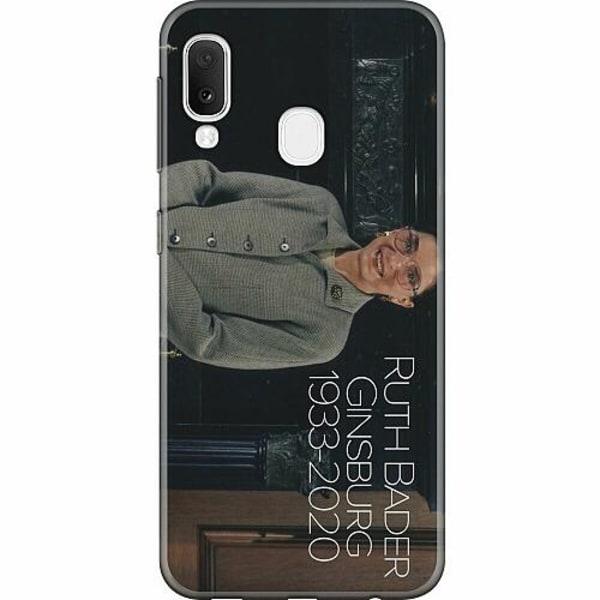 Samsung Galaxy A20e Mjukt skal - Ruth Bader Ginsburg (RBG)